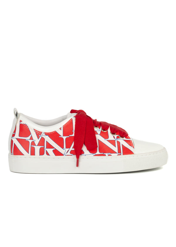 Lanvin Womens Print Sneakers - ACCESSX