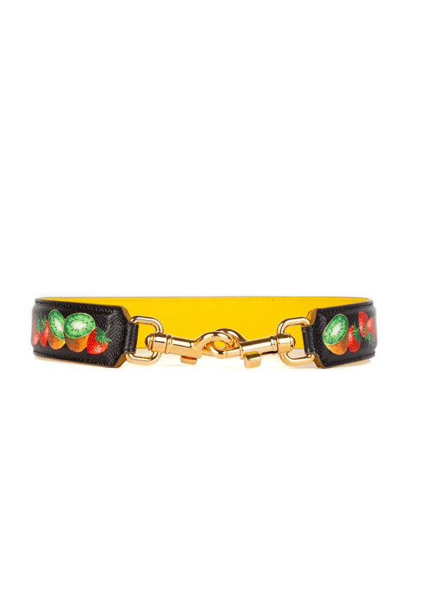 Dolce & Gabbana Womens Fruity Shoulder Strap - ACCESSX