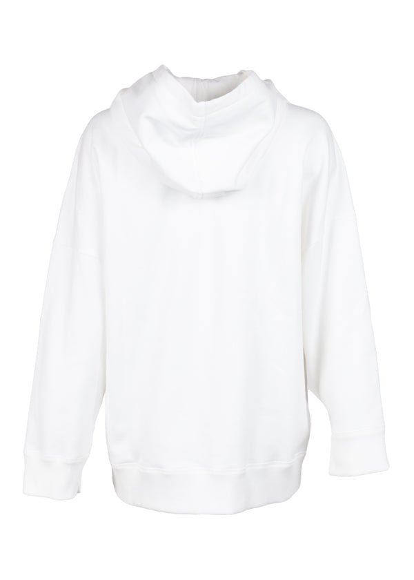 Fendi Womens White Embroidered Rainbow Hoodie - ACCESSX