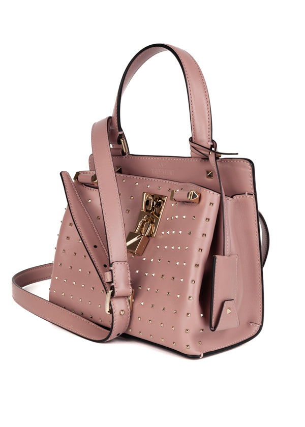 Valentino Garavani Pink Piper Mini Shoulder Bag - ACCESSX