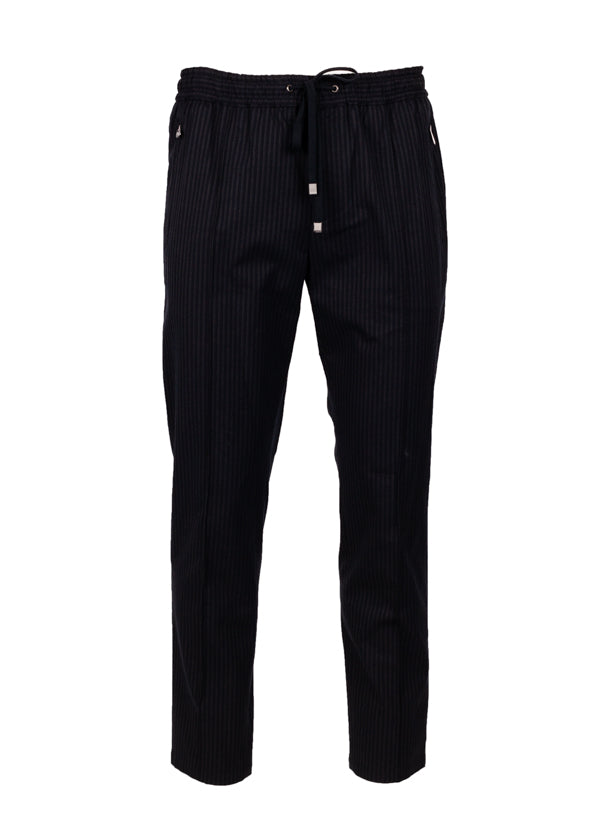 Dolce & Gabbana Mens Striped Pants - Tribeca Fashion House