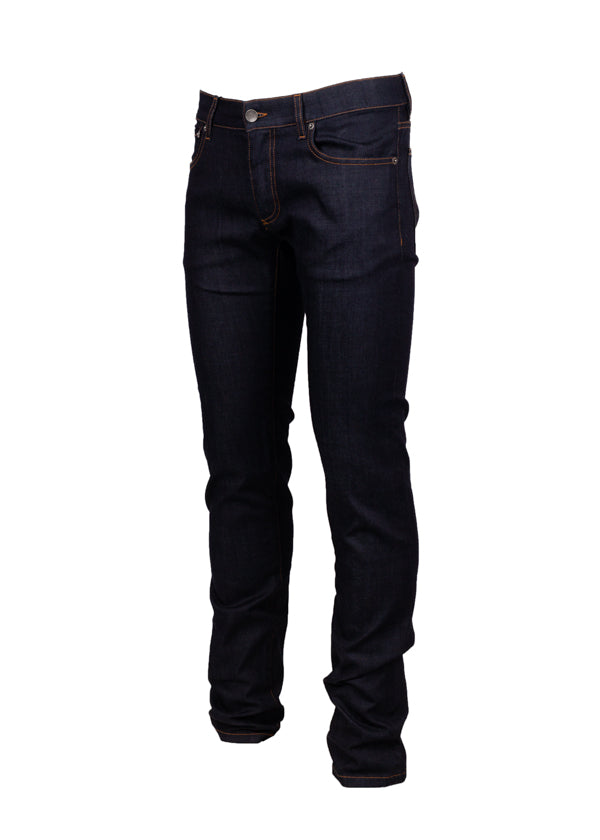 Dolce & Gabbana Mens Dark Wash Stretch Jeans - ACCESSX