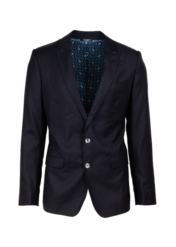 Dolce & Gabbana Mens Classic Black Blazer - Tribeca Fashion House