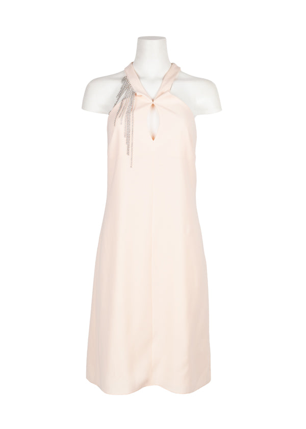 Lanvin Womens Pink Embellished Gown - ACCESSX