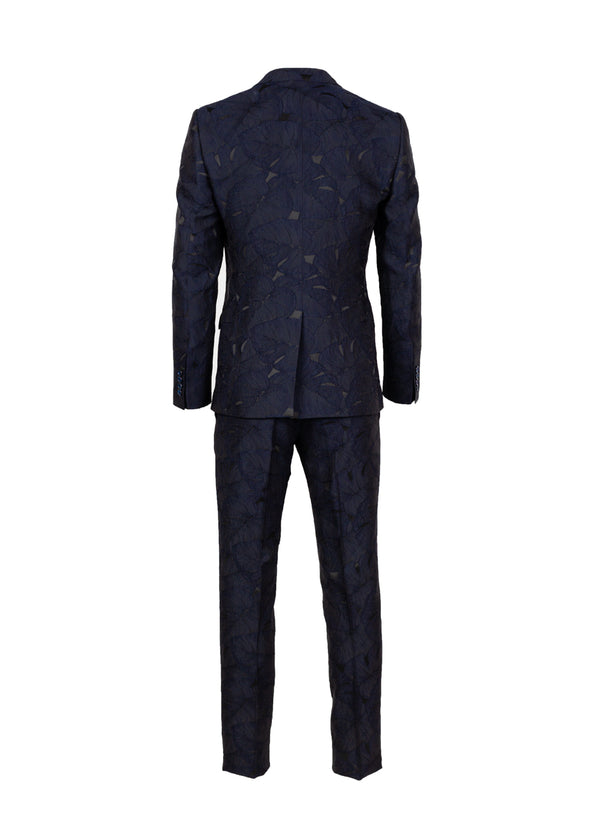 Dolce & Gabbana Mens Martini Palm Leaf Embroidered Suit - ACCESSX