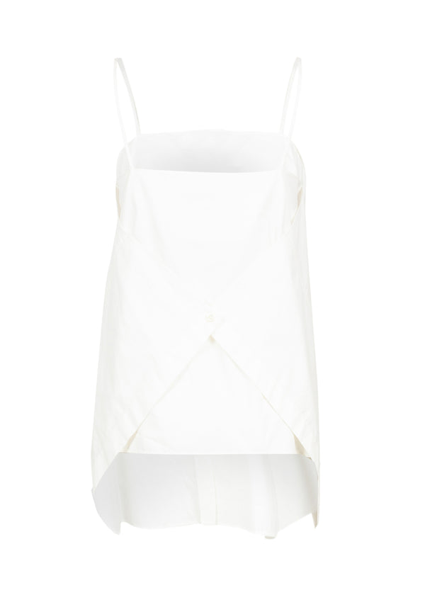Balenciaga Womens White Panel Top - ACCESSX