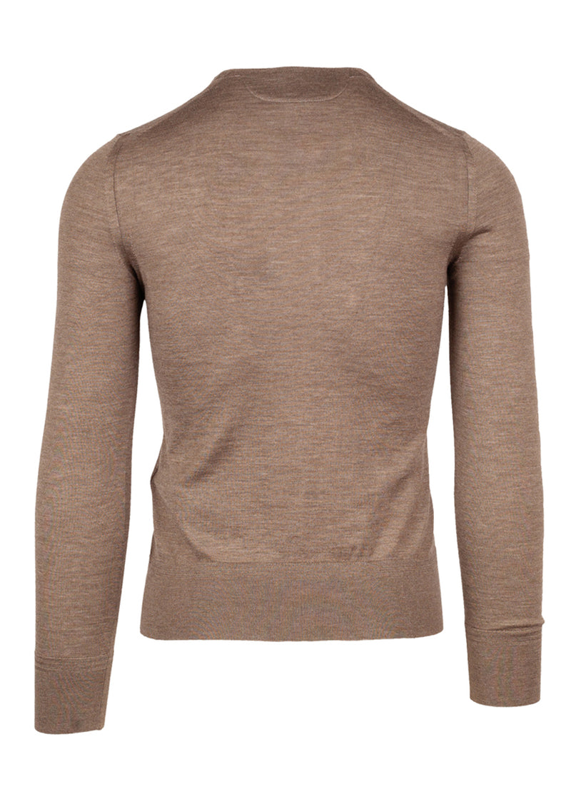 Tom Ford Mens Brown Knit Polo - ACCESSX