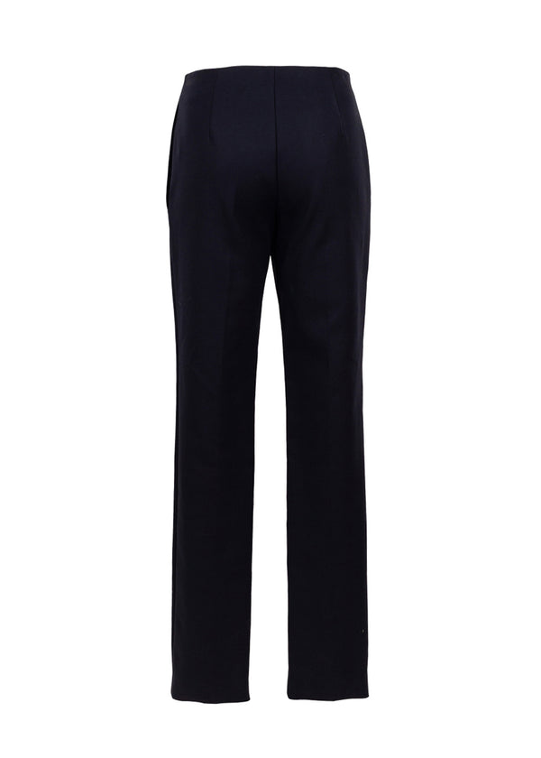 Dior Womens Navy Cotton Trousers - ACCESSX