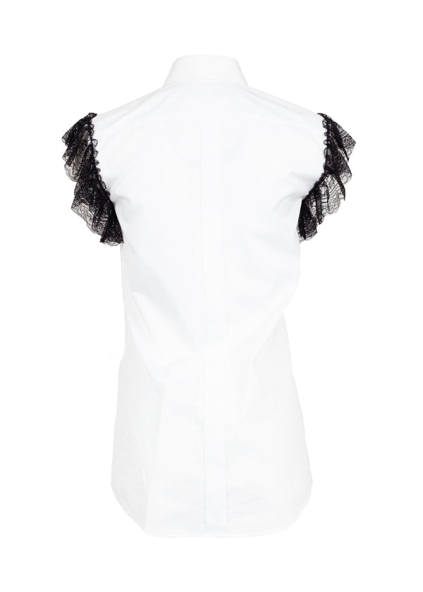 Dolce & Gabbana Womens White Martini Top - ACCESSX