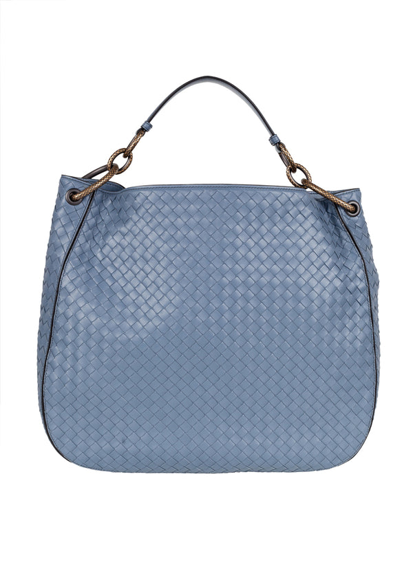 Bottega Veneta Womens Krim Medium Loop Bag - ACCESSX