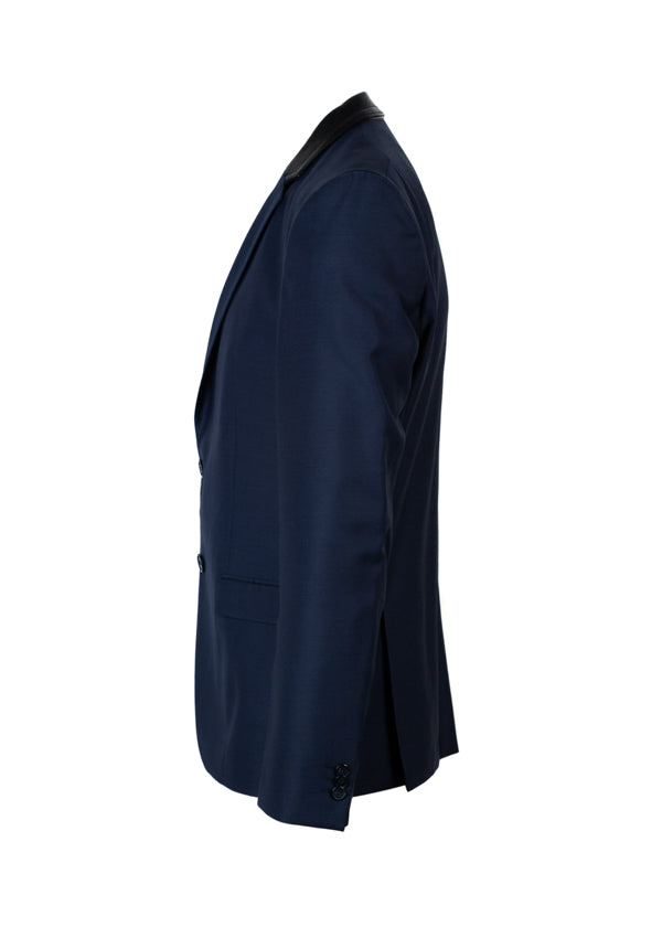 HUGO By Hugo Boss Awerd Navy Jacket - ACCESSX