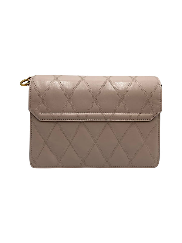 GIVENCHY GV3 PALE PINK QUILTED SMALL BAG - ACCESSX