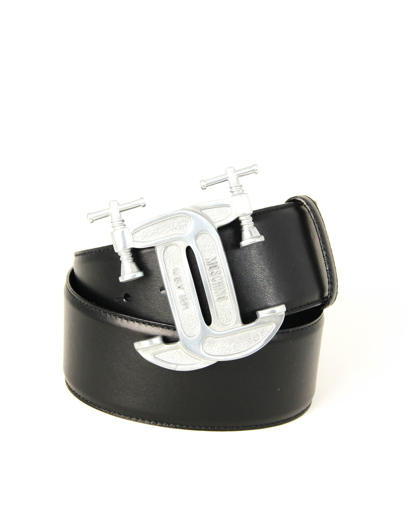 Moschino C Clamp Belt - ACCESSX