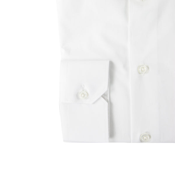 Roberto Cavalli Comfort-Fit Dress Shirt in White - ACCESSX
