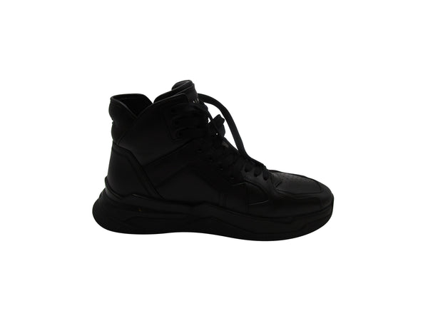 BALMAIN PANELLED HIGH-TOP SNEAKERS - ACCESSX