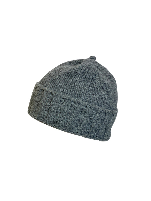 Dolce and Gabbana Womens Grey Beanie - ACCESSX