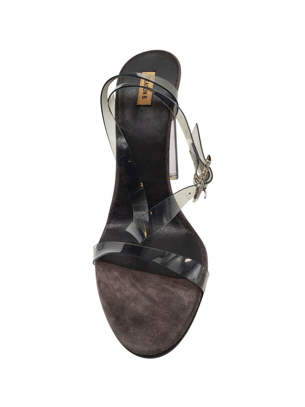 YEEZY TRANSPARENT STRAP SANDALS - ACCESSX