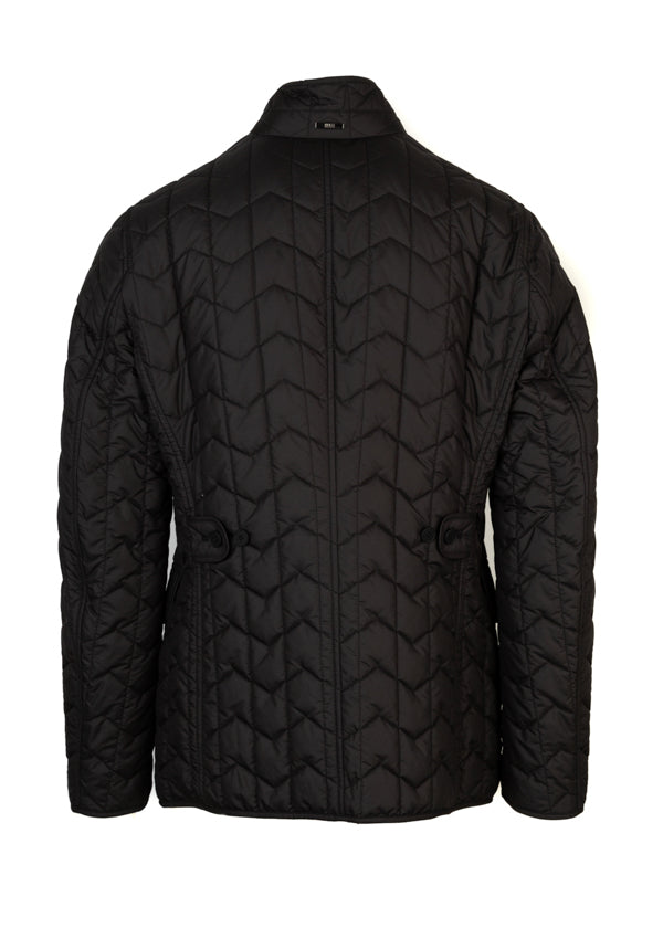 BOSS By Hugo Boss Mens Black Canehill Quilted Jacket - ACCESSX