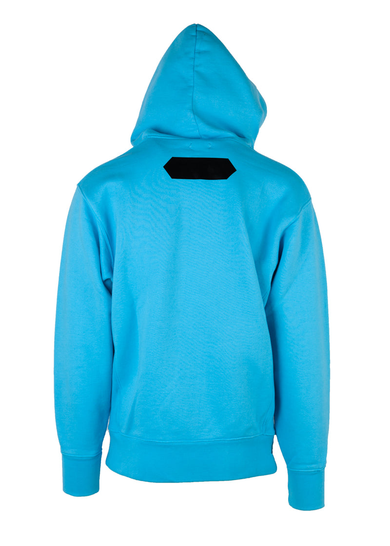 Tom Ford Mens Bright Blue Heavyweight Pull Over Cotton Sweatshirt - Tribeca Fashion House