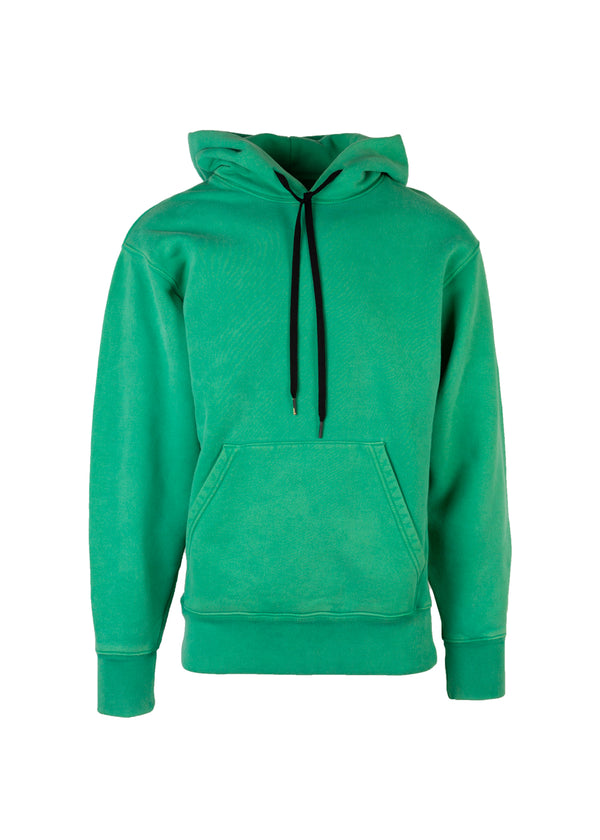 Tom Ford Mens Green Heavyweight Pull Over Cotton Sweatshirt - Tribeca Fashion House