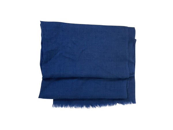 Tom Ford Mens Navy Scarf - ACCESSX