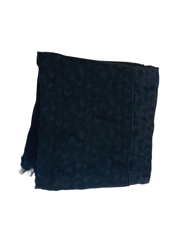 Tom Ford Mens Navy Polka Dot Scarf - ACCESSX