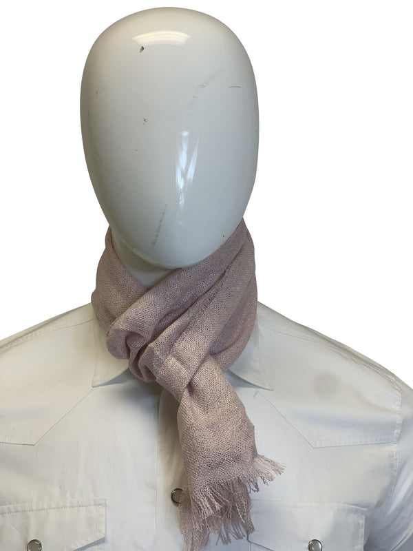 Tom Ford Mens Light Pink Scarf - ACCESSX
