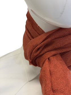 Tom Ford Mens Orange Scarf - ACCESSX