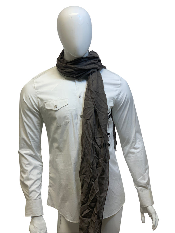 Tom Ford Mens Light Brown Scarf - ACCESSX
