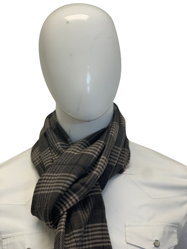 Tom Ford Mens Light Brown Multi Colored Scarf - ACCESSX