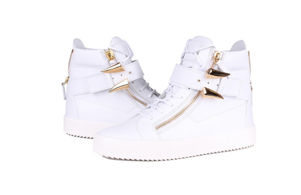Giusseppe Zanotti High-Tops in White - ACCESSX