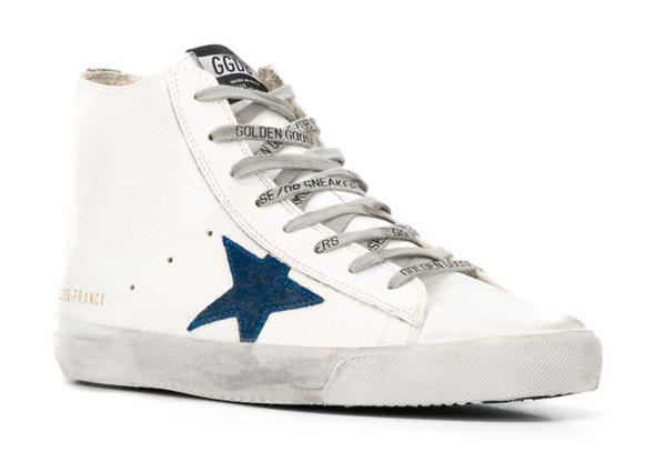 Golden Goose Star Embroidered Sneakers - ACCESSX