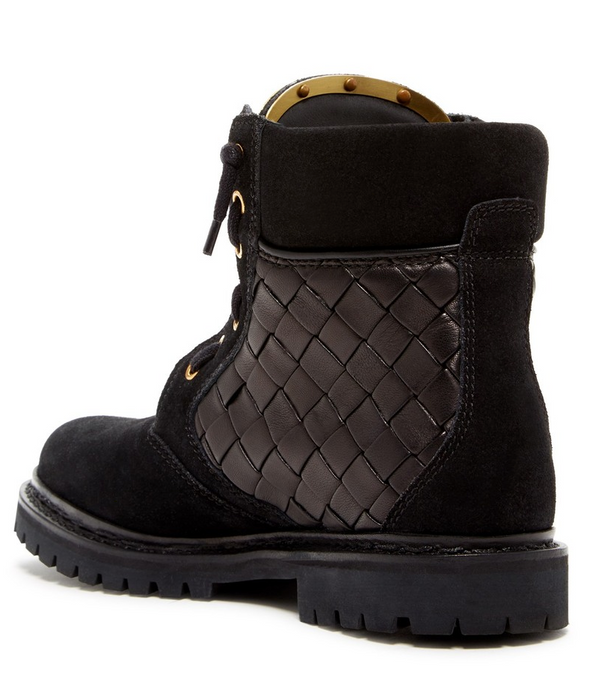 Balmain Womens Taiga Boots in Black - ACCESSX