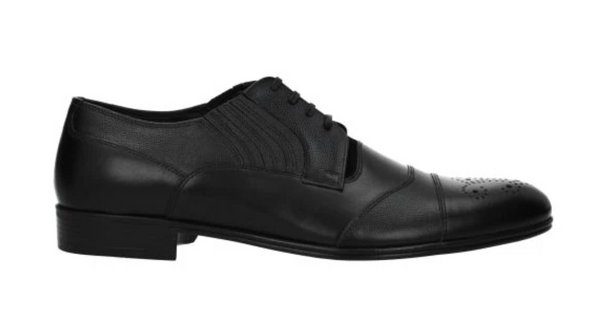 Dolce & Gabanna Lace up and Monkstrap Dress Shoe in Black - ACCESSX