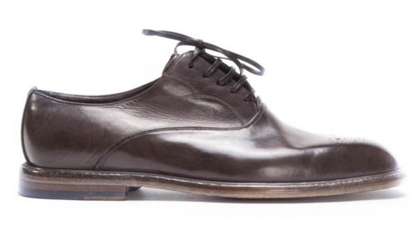 Dolce & Gabbana Marsala Derby Shoes - ACCESSX