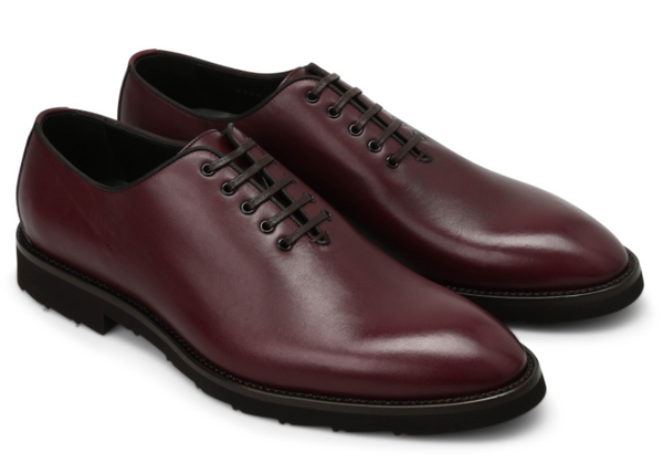 Dolce & Gabbana Smooth Leather Lace Up Shoes - ACCESSX
