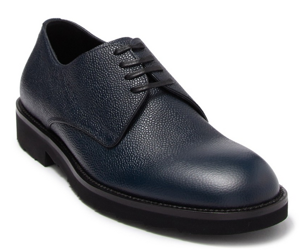 Dolce & Gabbana Leather Plain Toe Derby - ACCESSX