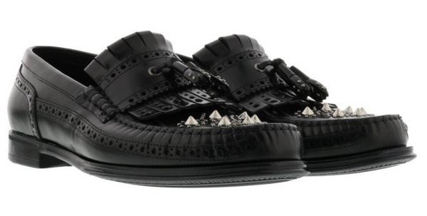 Dolce & Gabbana Brogue Loafers - ACCESSX