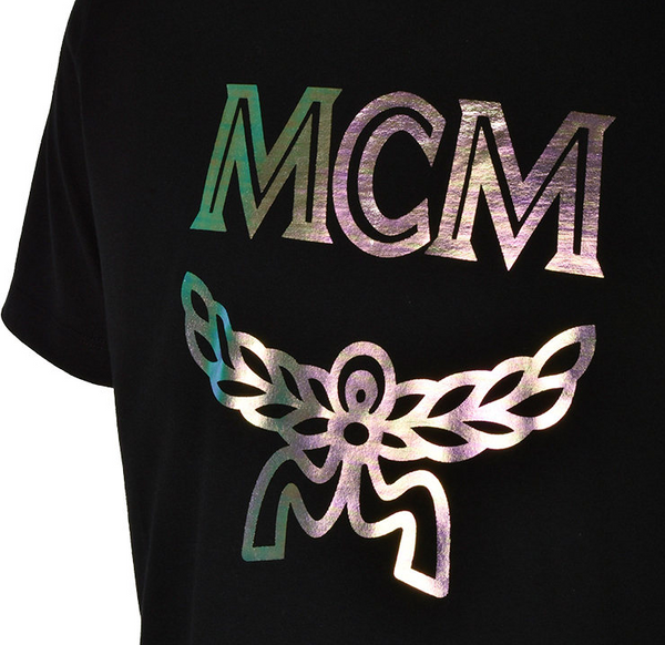 MCM Hologram Printed T Shirt - ACCESSX