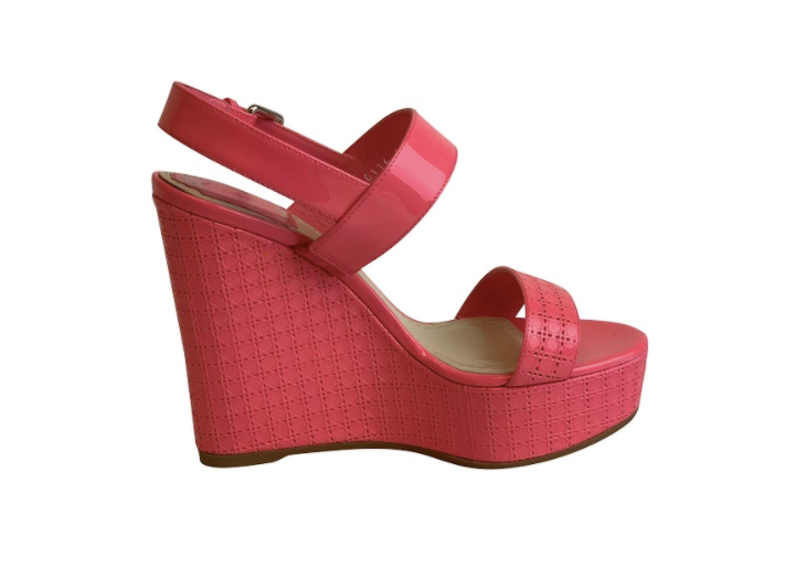 Christian Dior Cannage Sun Wedge Heel - ACCESSX