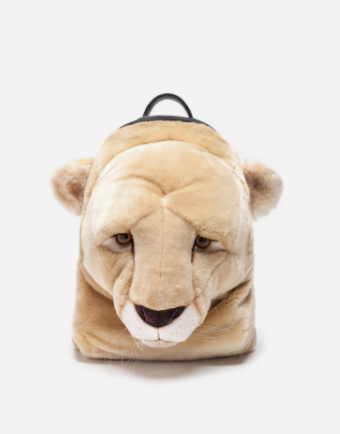 Dolce&Gabbana Plush Backpack In Beige - ACCESSX