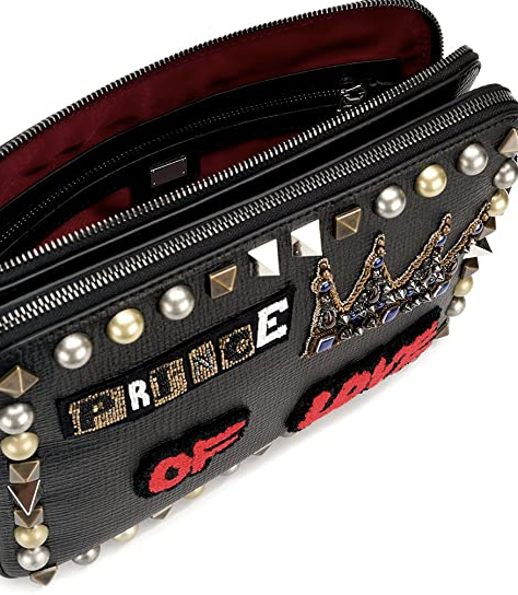Dolce and Gabbana Mens Multicolored Leather Clutch - ACCESSX