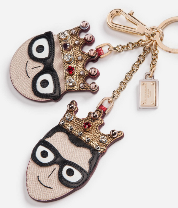 Dolce & Gabbana Keychain Charm With The Designers - ACCESSX