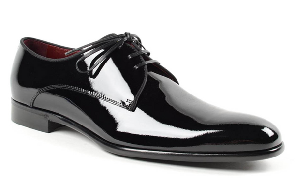 Dolce & Gabbana Patent Leather Classic Shoe in Black - ACCESSX