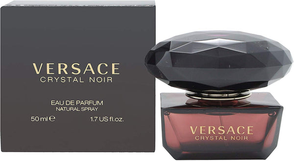 VERSACE CRYSTAL NOIR EAU DE PARFUM Natural Spray 1.7 US FL. OZ. - Tribeca Fashion House