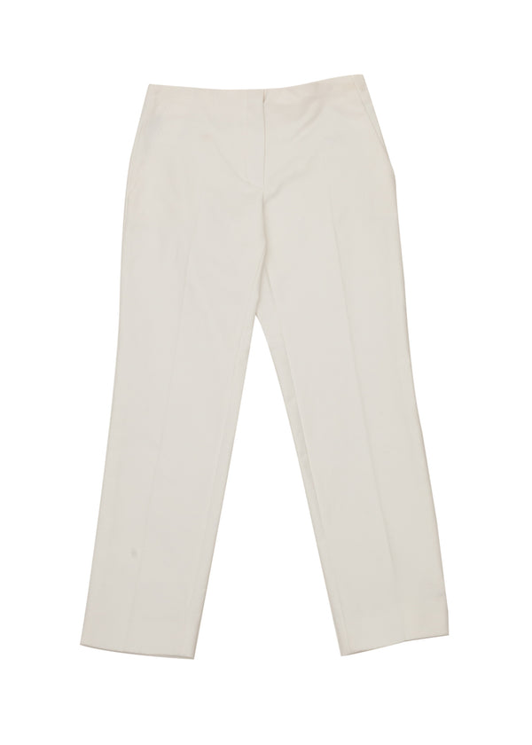 Dior Womens White Cropped Pants - Tribeca Fashion House