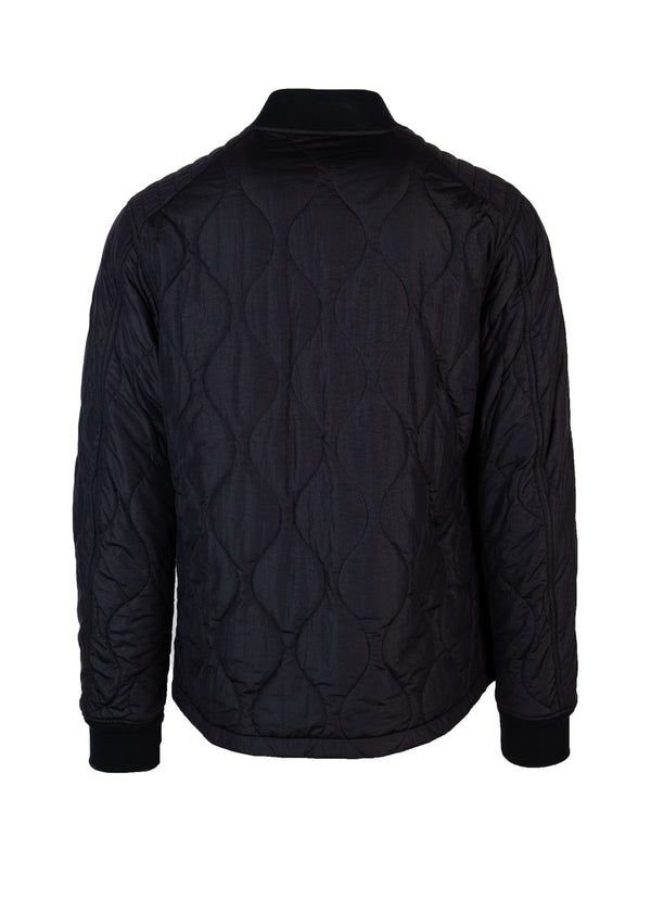 Belstaff Mens Navy Fuller Quilted Bomber Jacket - Tribeca Fashion House