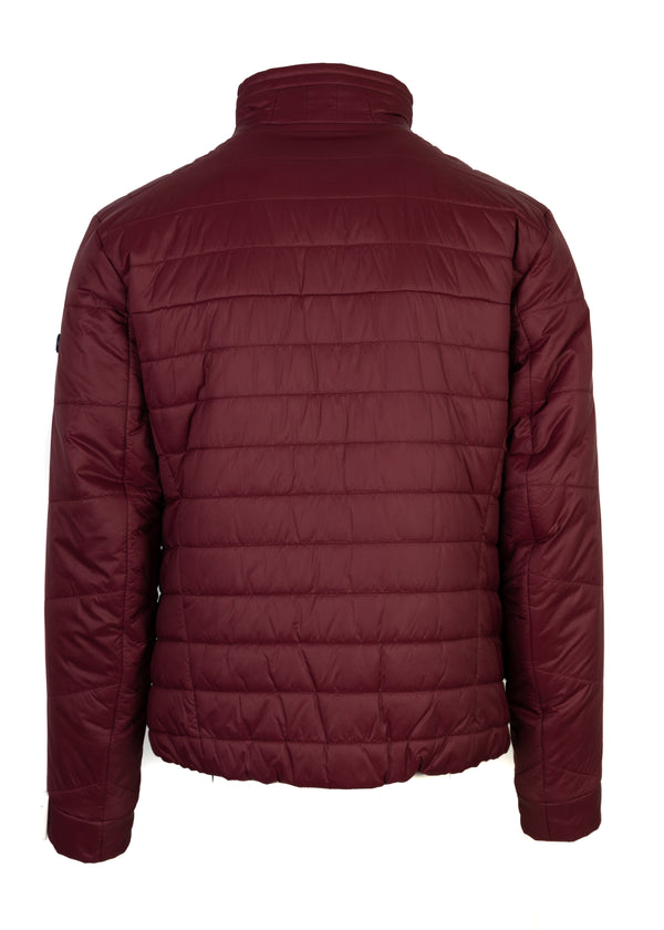 Hugo Boss Mens Burgundy Thermo Jhero Down Lightweight Jacket - ACCESSX