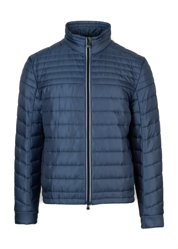 Hugo Boss Mens Navy Thermo Jeon 1 Golf Down Lightweight Jacket - Tribeca Fashion House