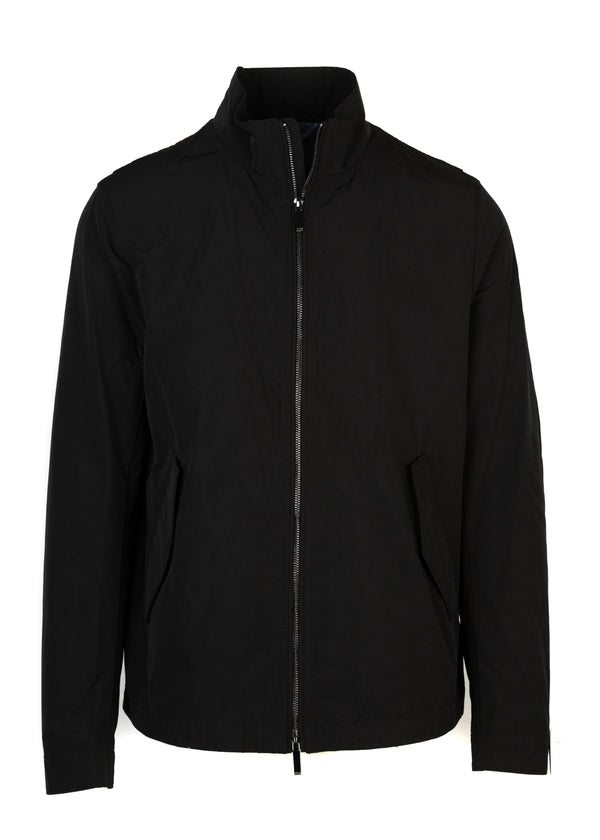 Hugo Boss Mens Black Lightweight Calmar 1 Water Repellent Jacket - Tribeca Fashion House